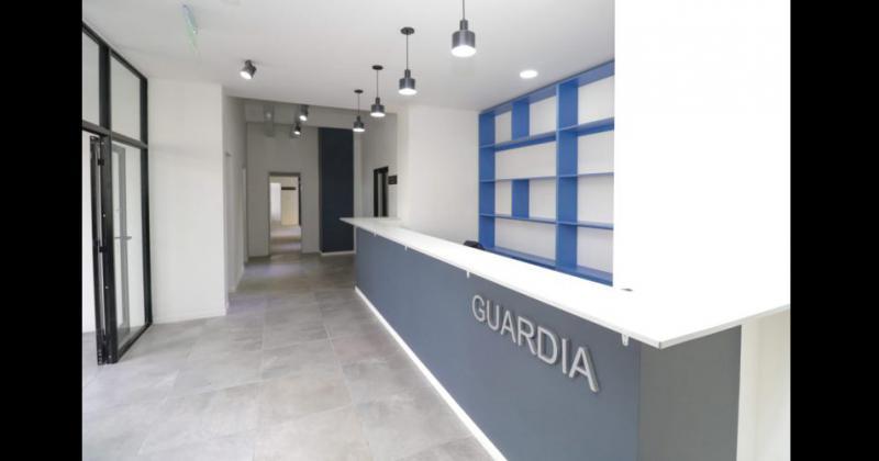 La nueva sede edilicia de la EPD ubicada sobre calle Alsina a la altura de Alberti